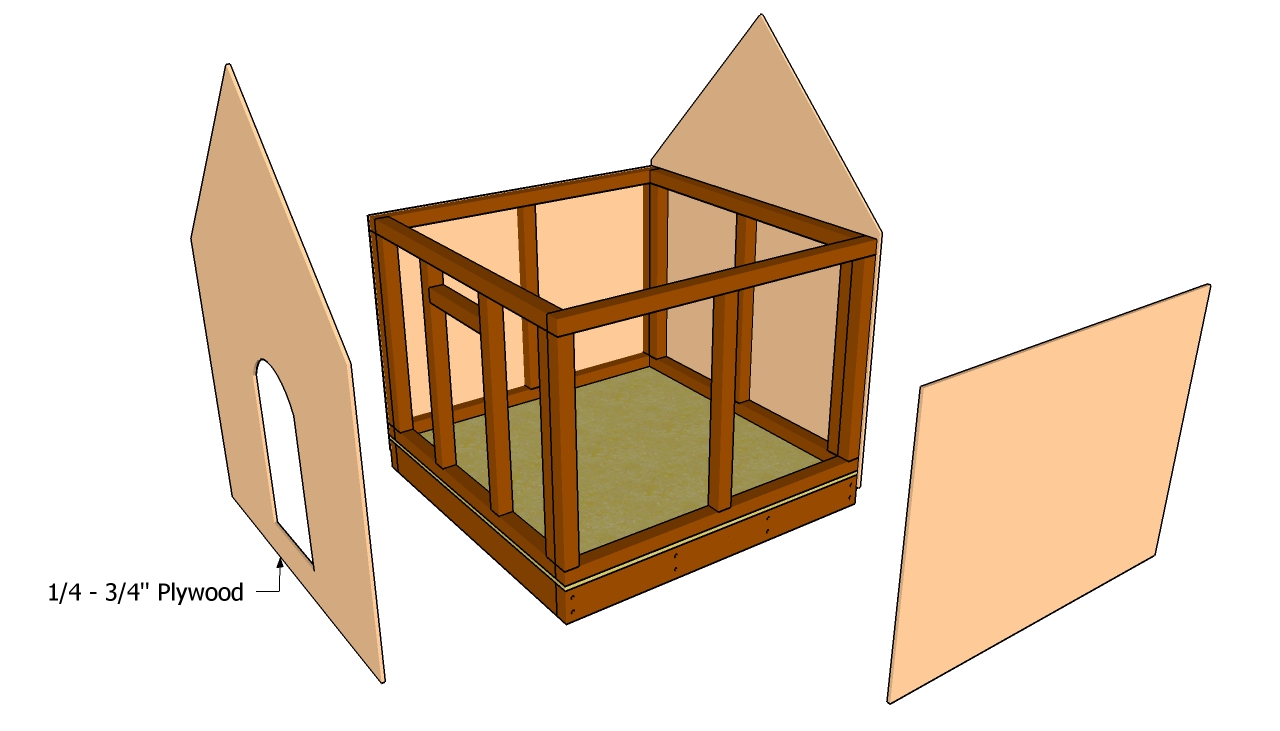 Dog House Plans Free | Free Garden Plans - How to build garden projects
