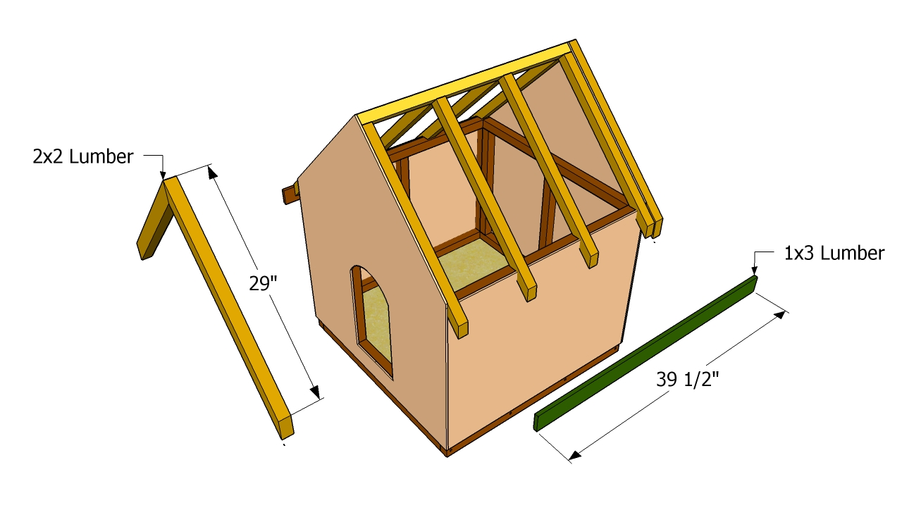 Dog house plans free free garden plans how to build for Build a house online