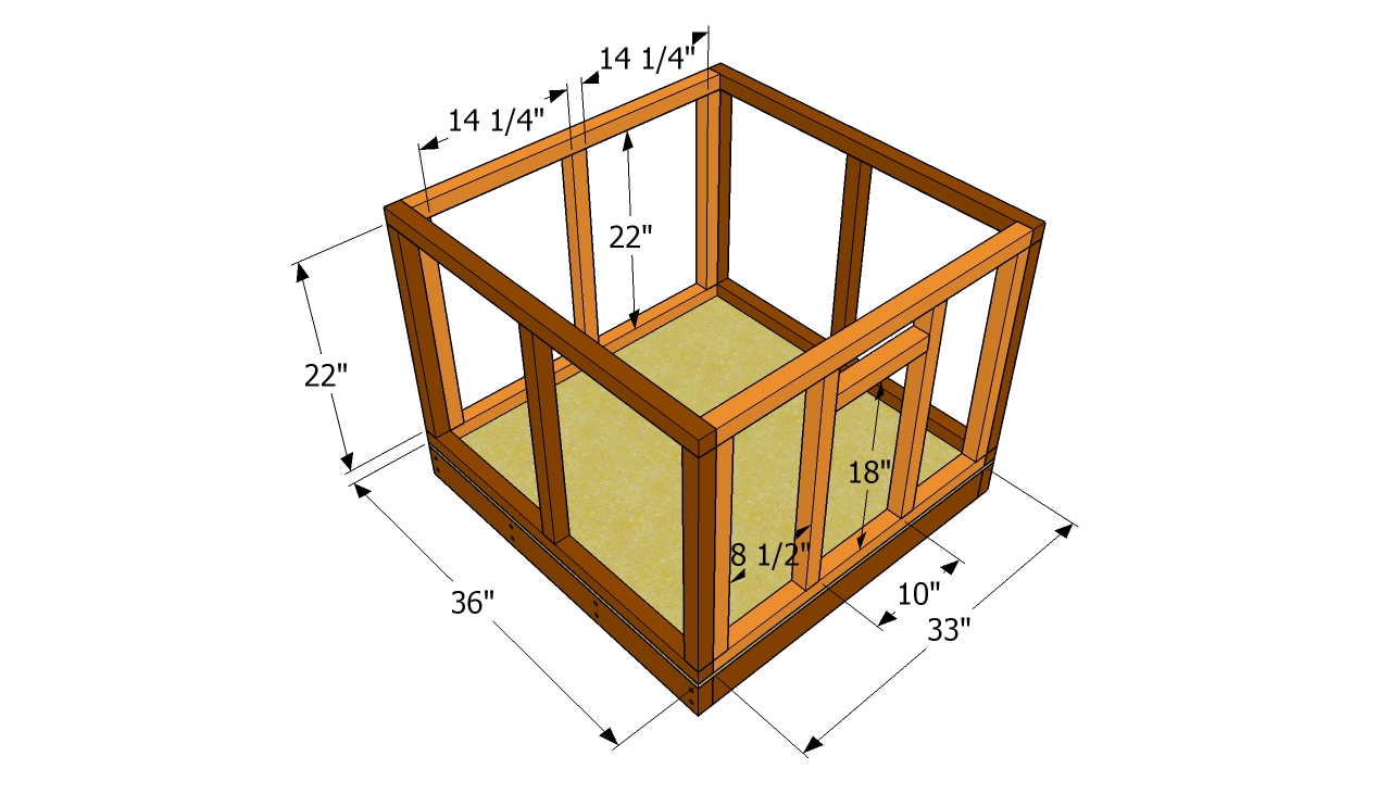 Dog house plans free free garden plans how to build for Dog kennel greenhouse