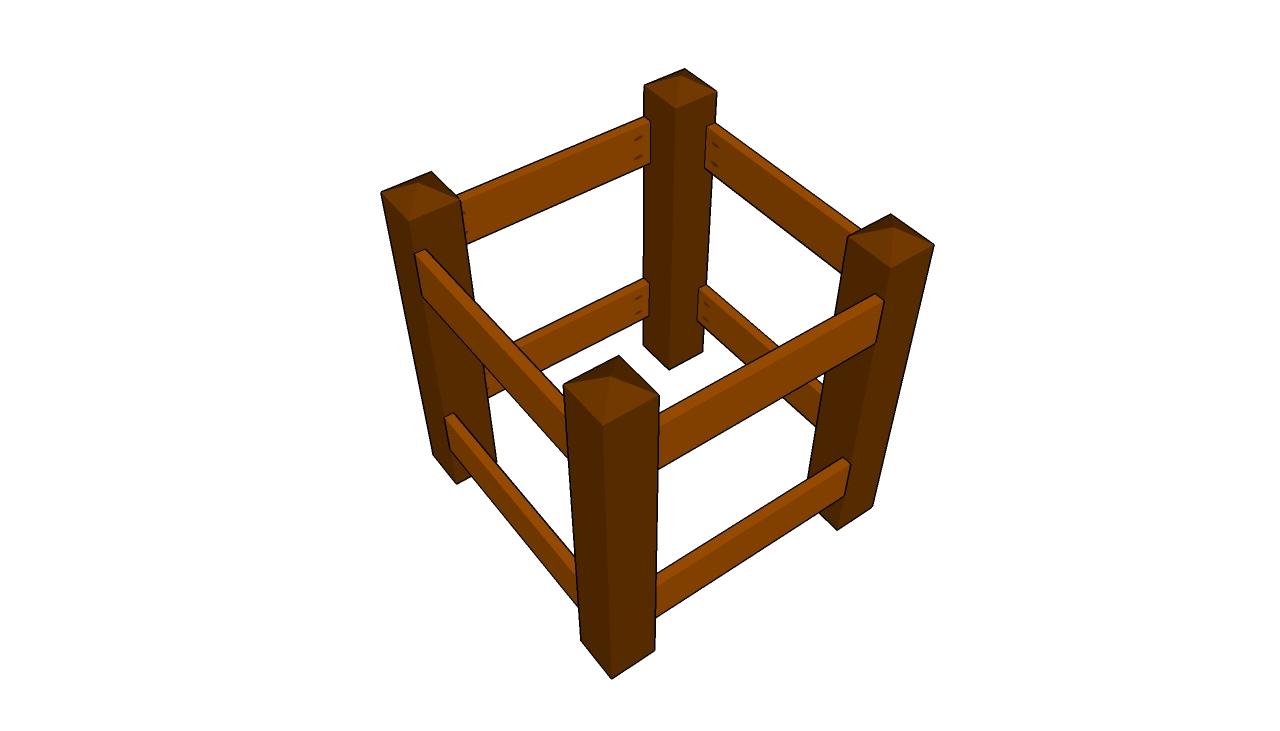 Building the planter's frame