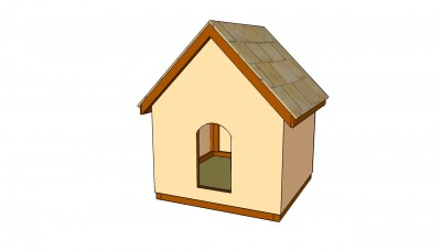 Dog house plans free free garden plans how to build for Lean to dog house plans