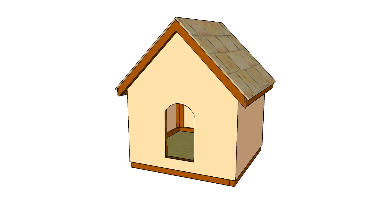 Lean To Dog House Plans