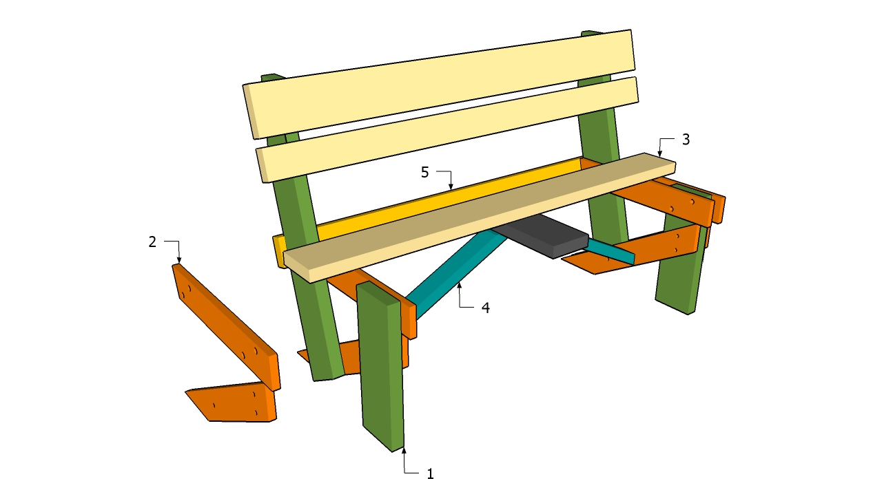 Simple Wooden Bench Plans Free | Small Woodworking Projects