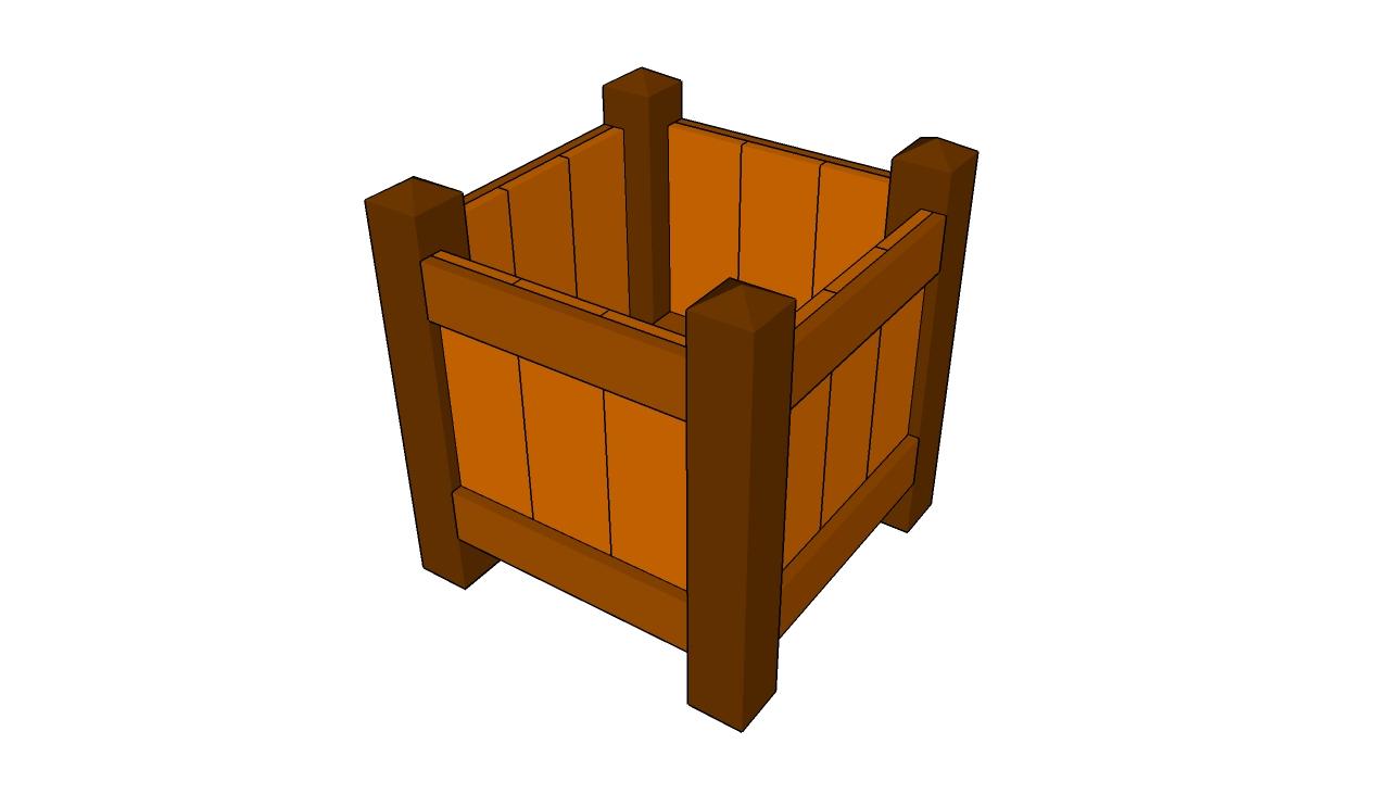 Wood Planter Plans