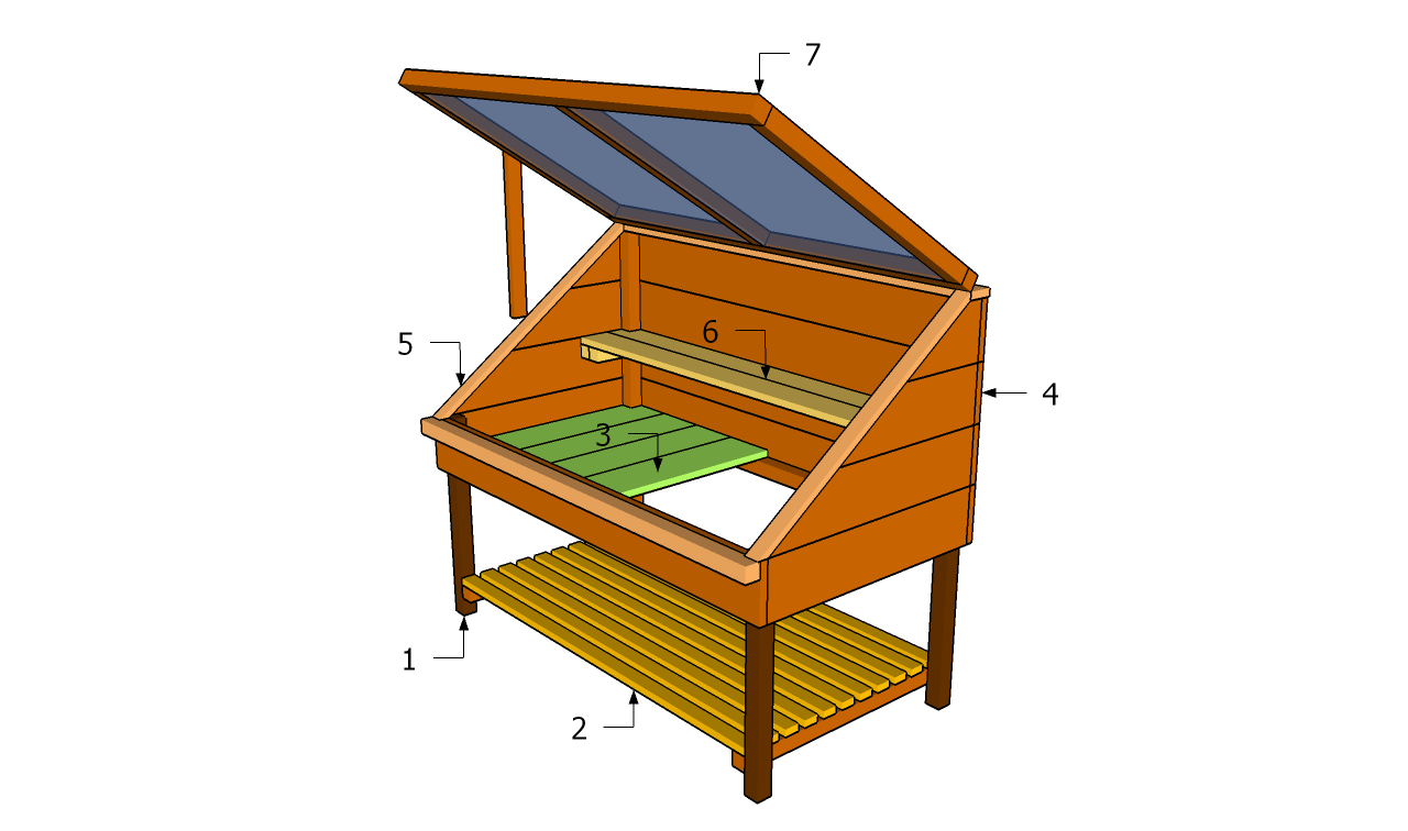 Cold frame building plans free garden plans how to A frame blueprints