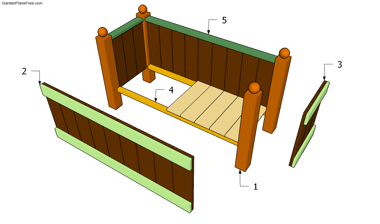 Garden planter plans free garden plans how to build for Garden planter plans