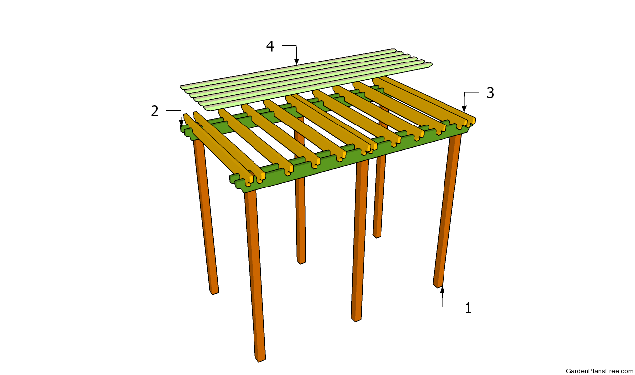 how to build a arbor plans