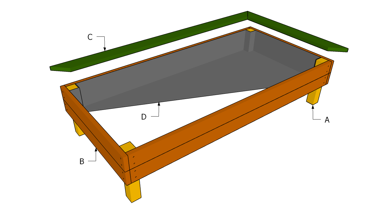 Raised garden bed plans free free garden plans how to for Raised bed garden layout