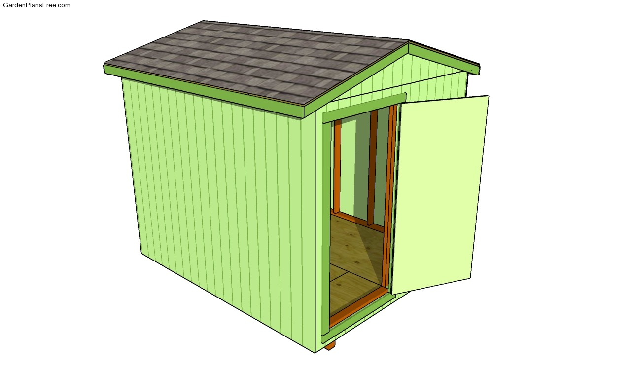 Lean to shed plans free free garden plans how to build for Garden shed plans