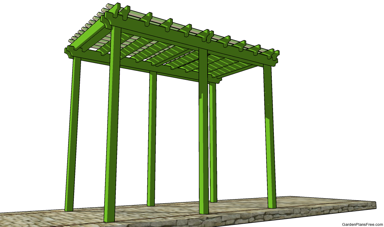 Bench arbor plans free garden plans how to build for Plans for arbors