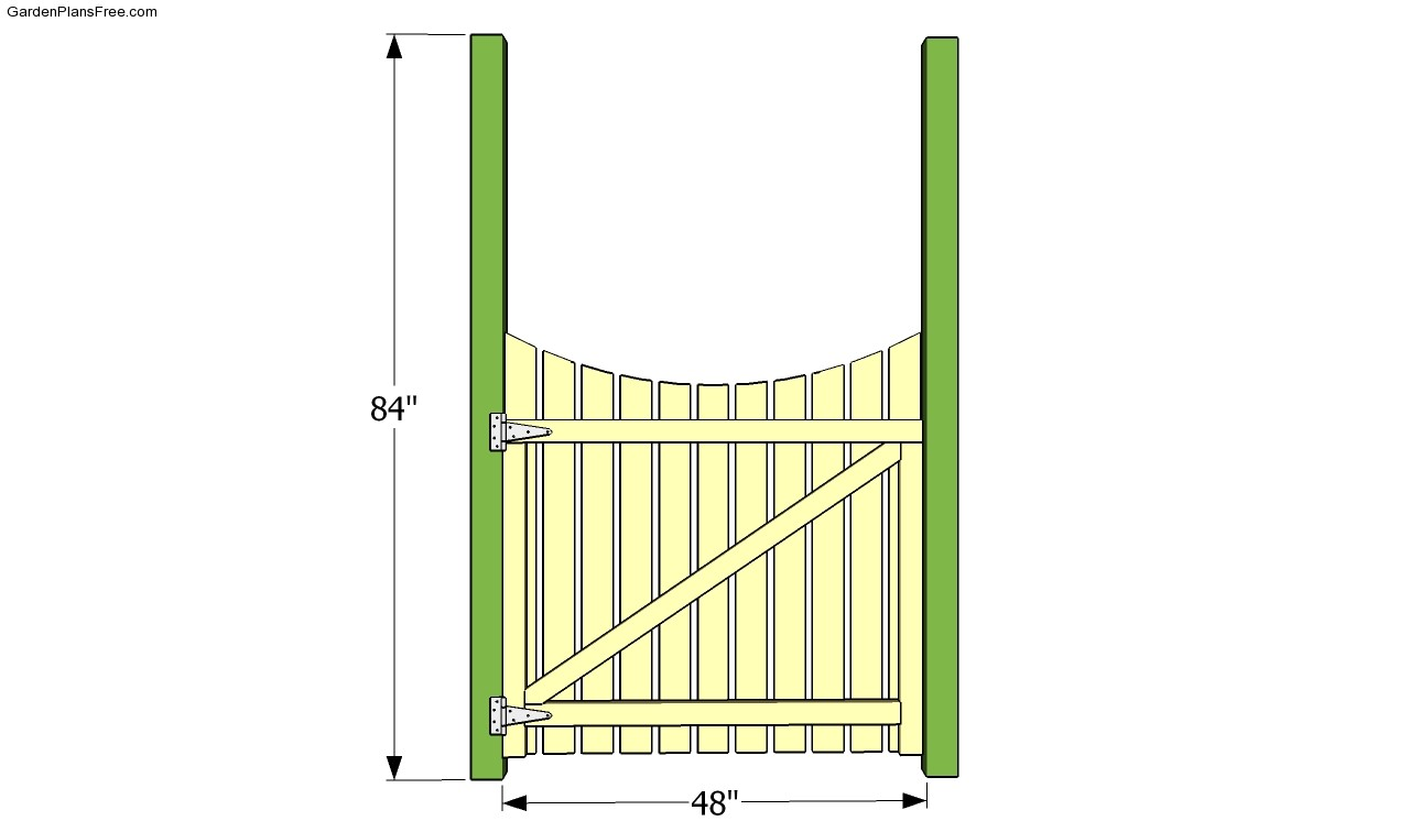 Garden Gate Plans Free Garden Plans How to build garden projects