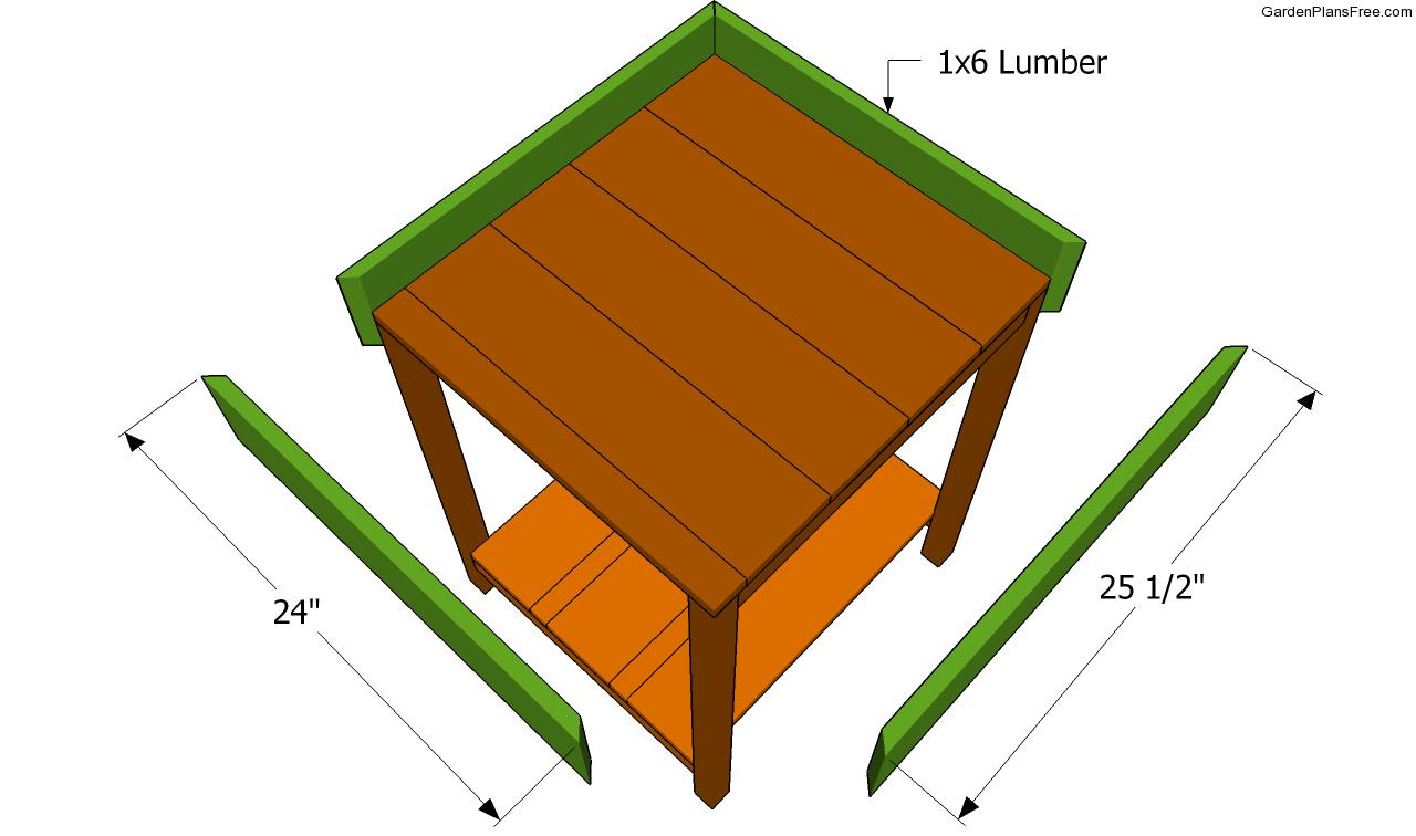 how to build a herb planter box