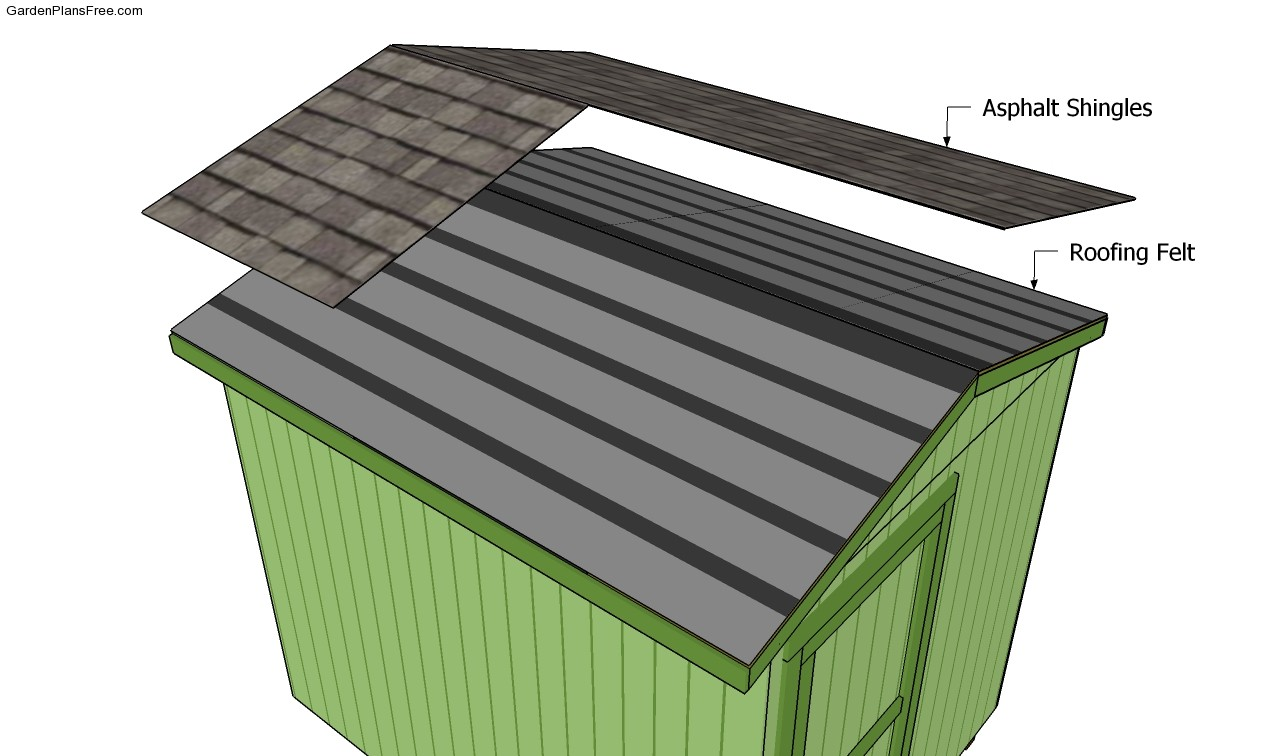 Building A Shed Roof Free Garden Plans How To Build
