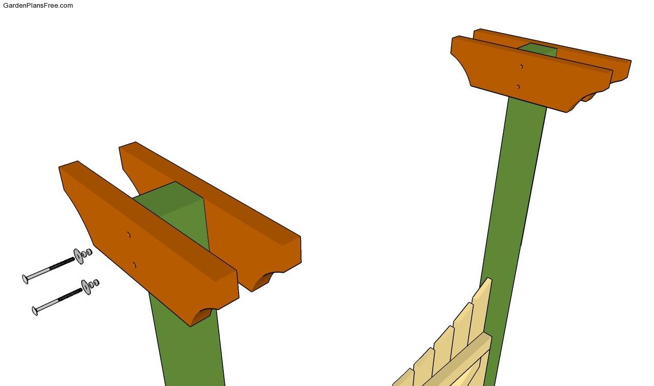 Installing the supoort beams