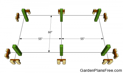 Download grape arbor plans free plans free for Laying out a garden plan
