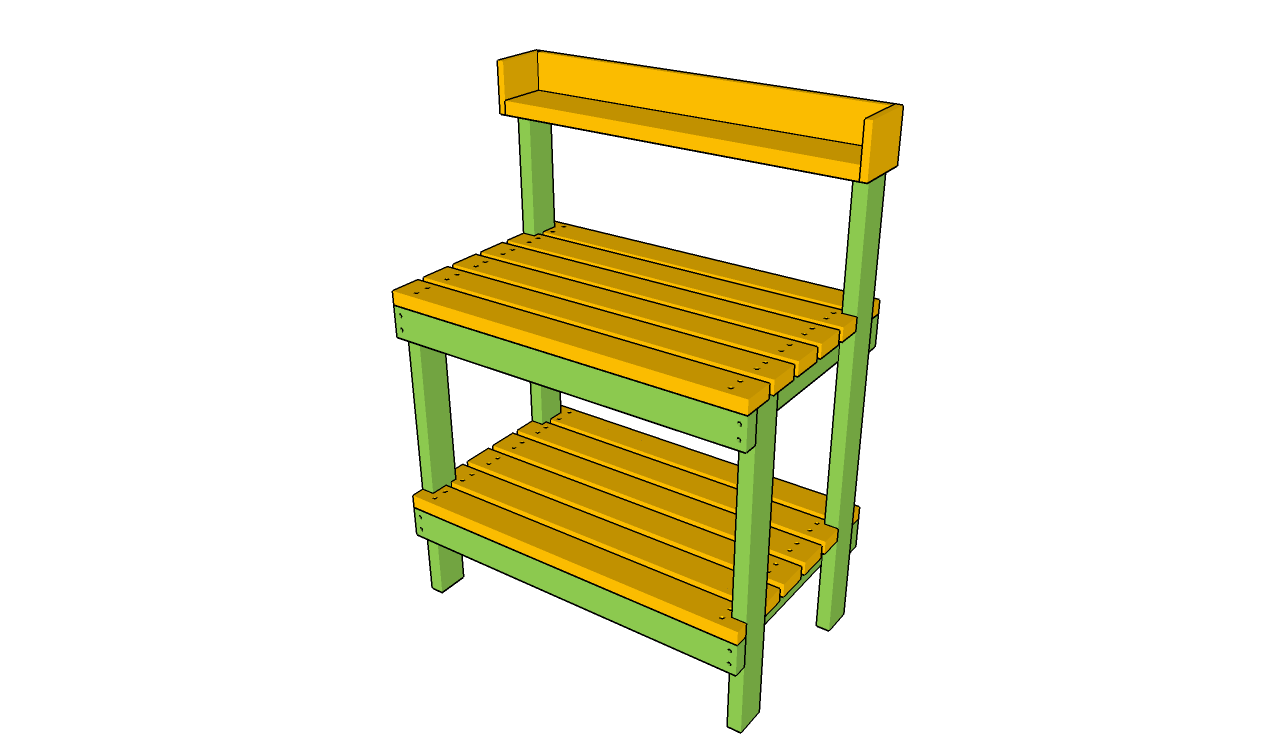 simple storage bench plans