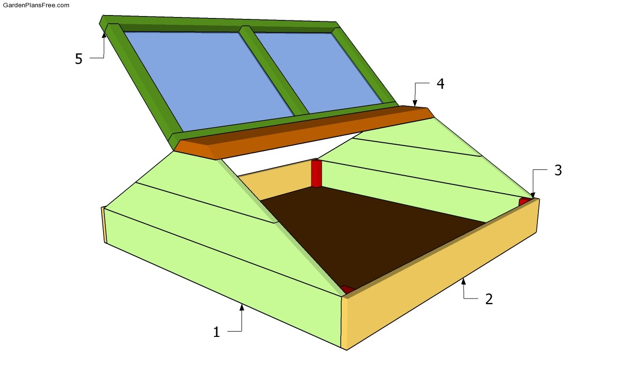 Cold frame plans free garden plans how to build garden A frame blueprints