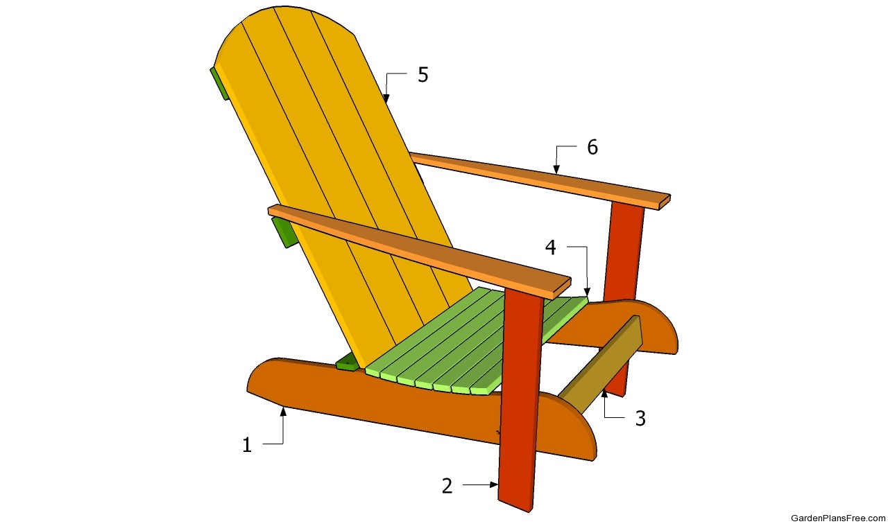 Free Plans For Garden Chairs