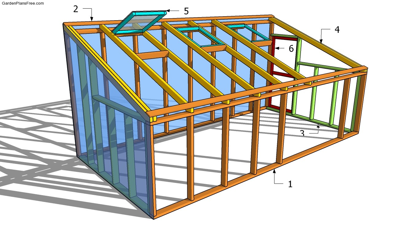 Pdf diy lean to greenhouse plans free download kreg jig for Lean to house designs