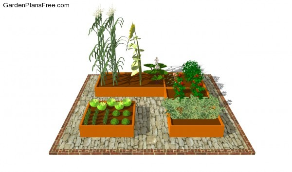 Small Vegetable Garden Plans Free Garden Plans How to