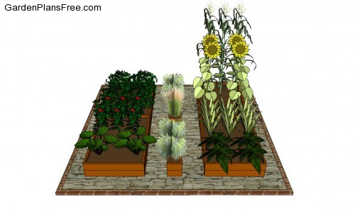 Building a vegetable garden