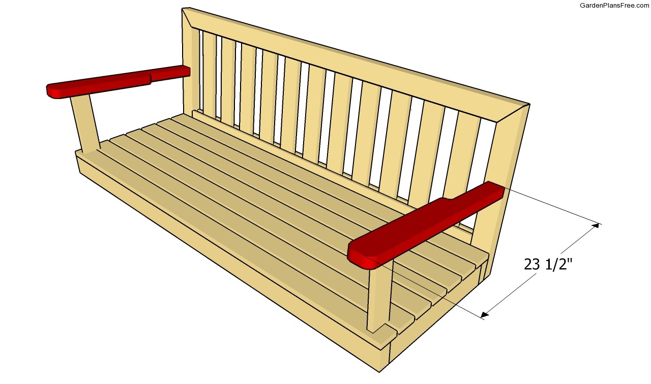 garden swing plans free garden plans how to build