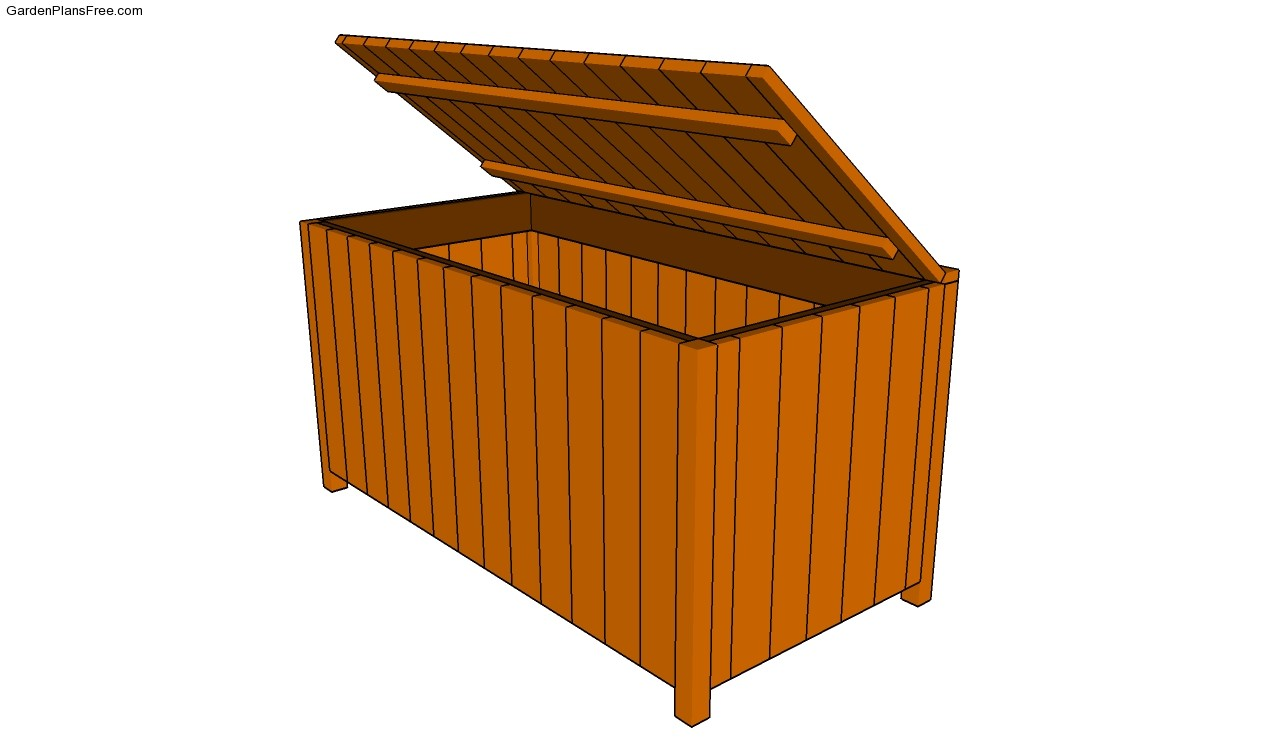 woodworking plans outdoor storage box excellent yellow
