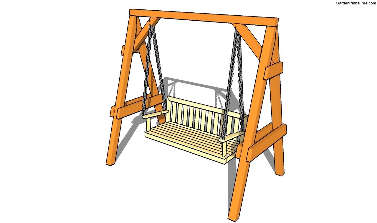 Garden swing plans