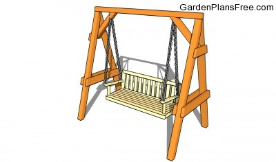 Outdoor Wood Swing Plans