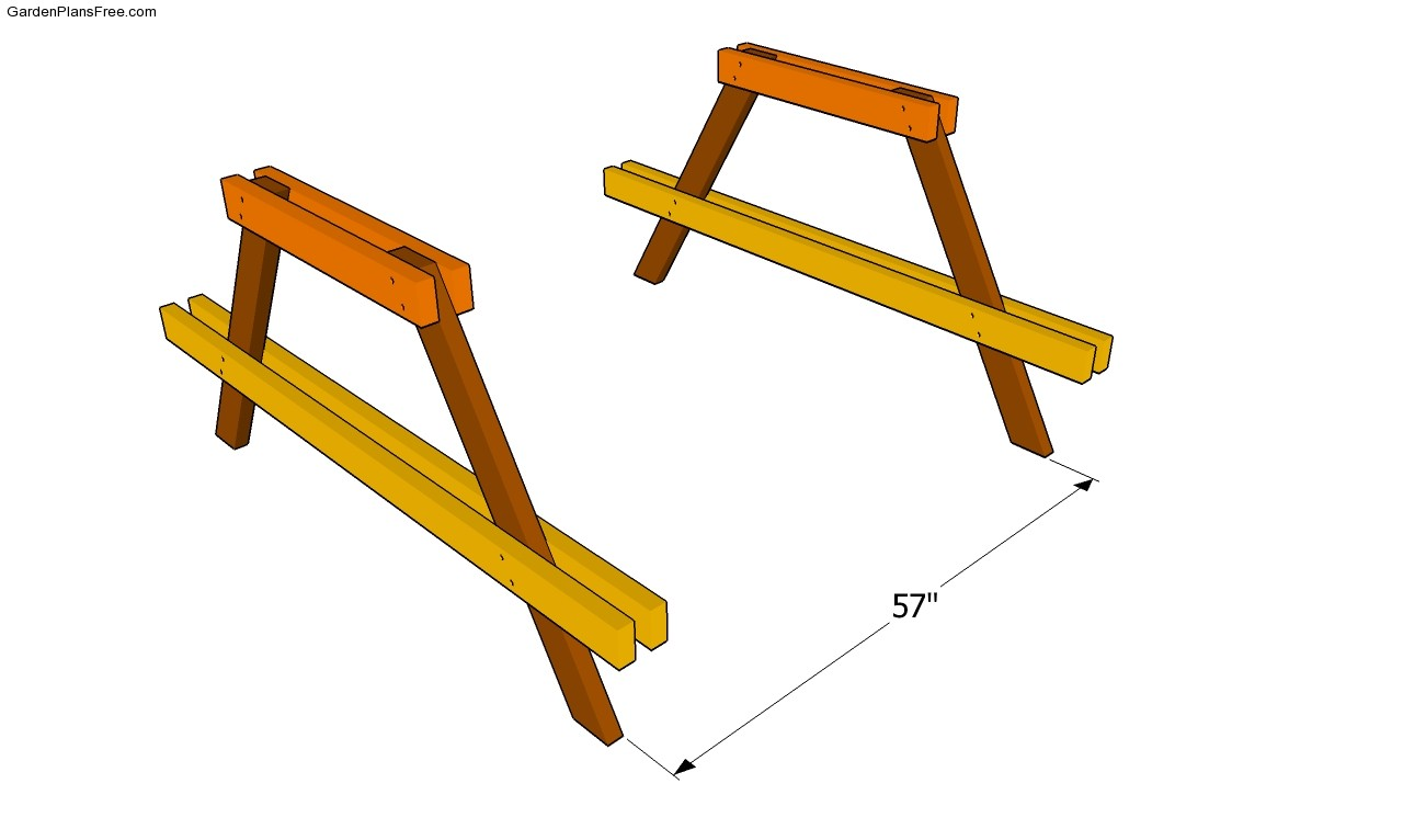 Picnic table framing