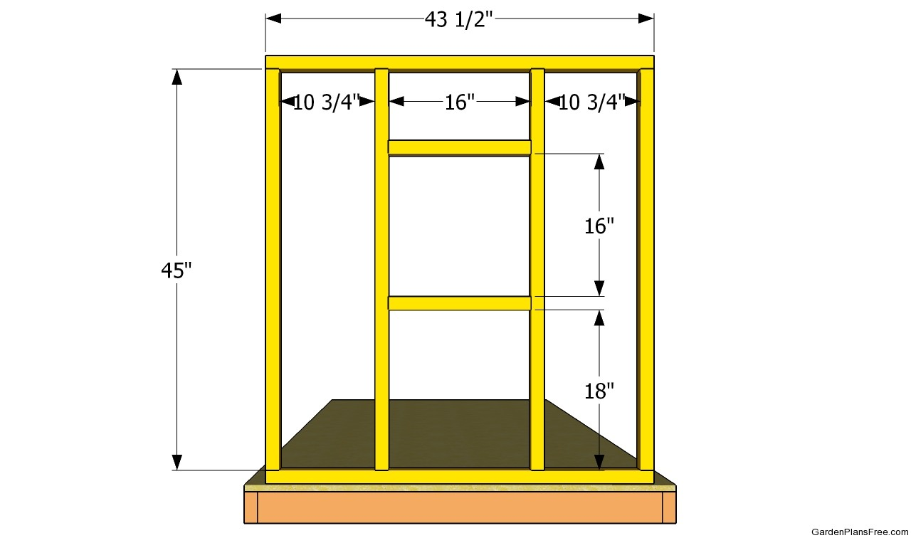 Side wall plans free