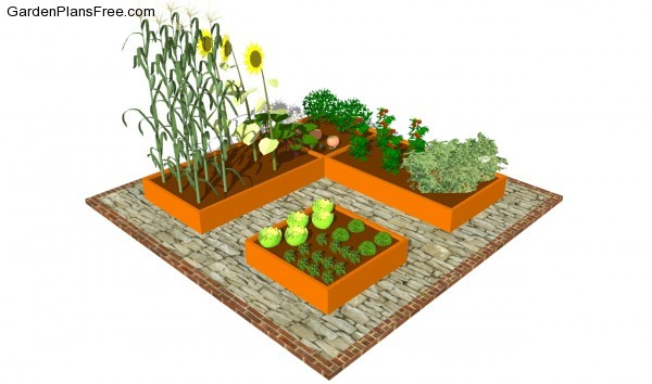 vegetable garden plans moreover - photo #15