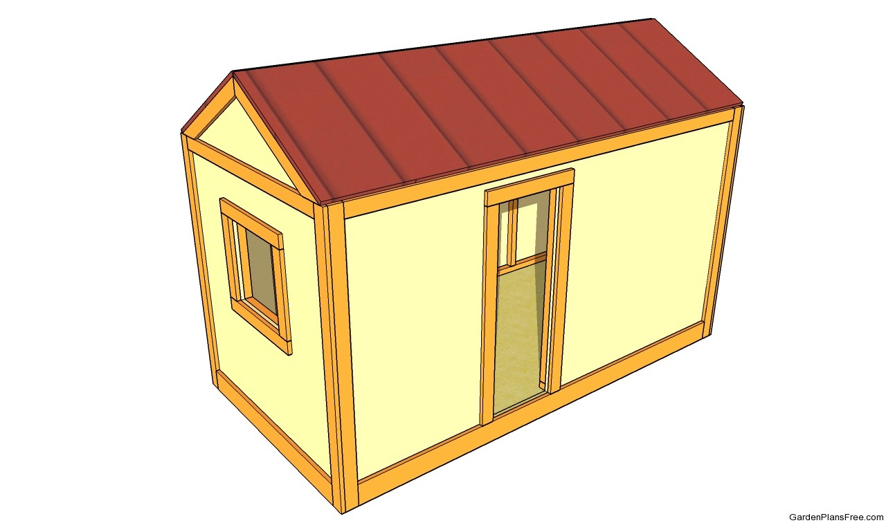 Garden playhouse plans