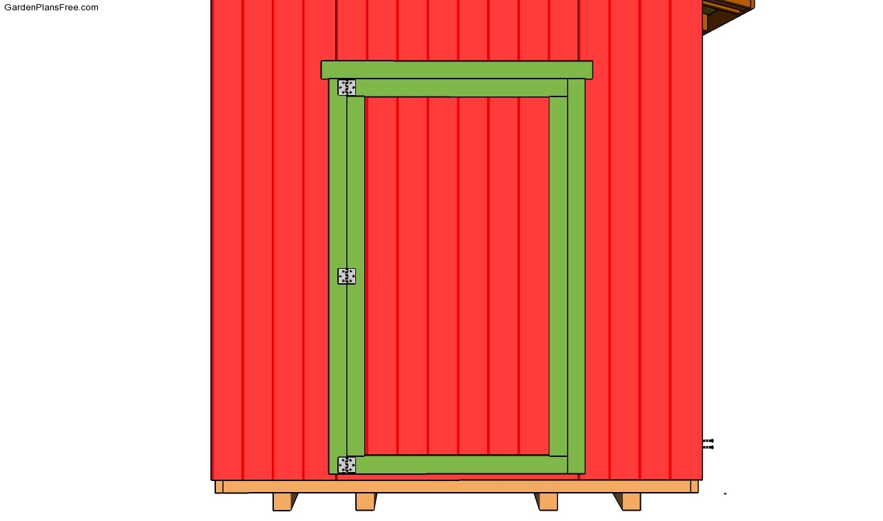 Shed Door Plans Installing Shed Siding Garden Shed Roof Plans