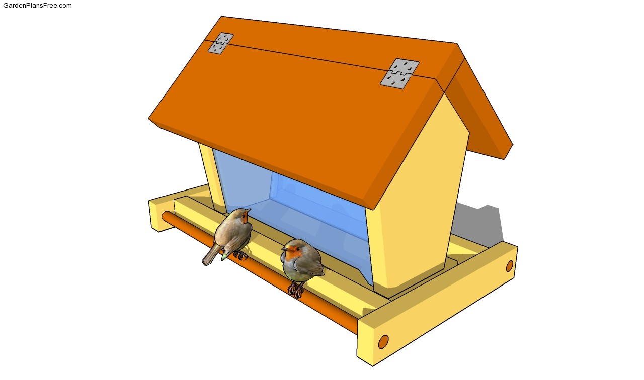 Bird Feeder Plans Free Garden Playhouse Plans Park Bench Plans Simple ...