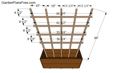 building plans trellis