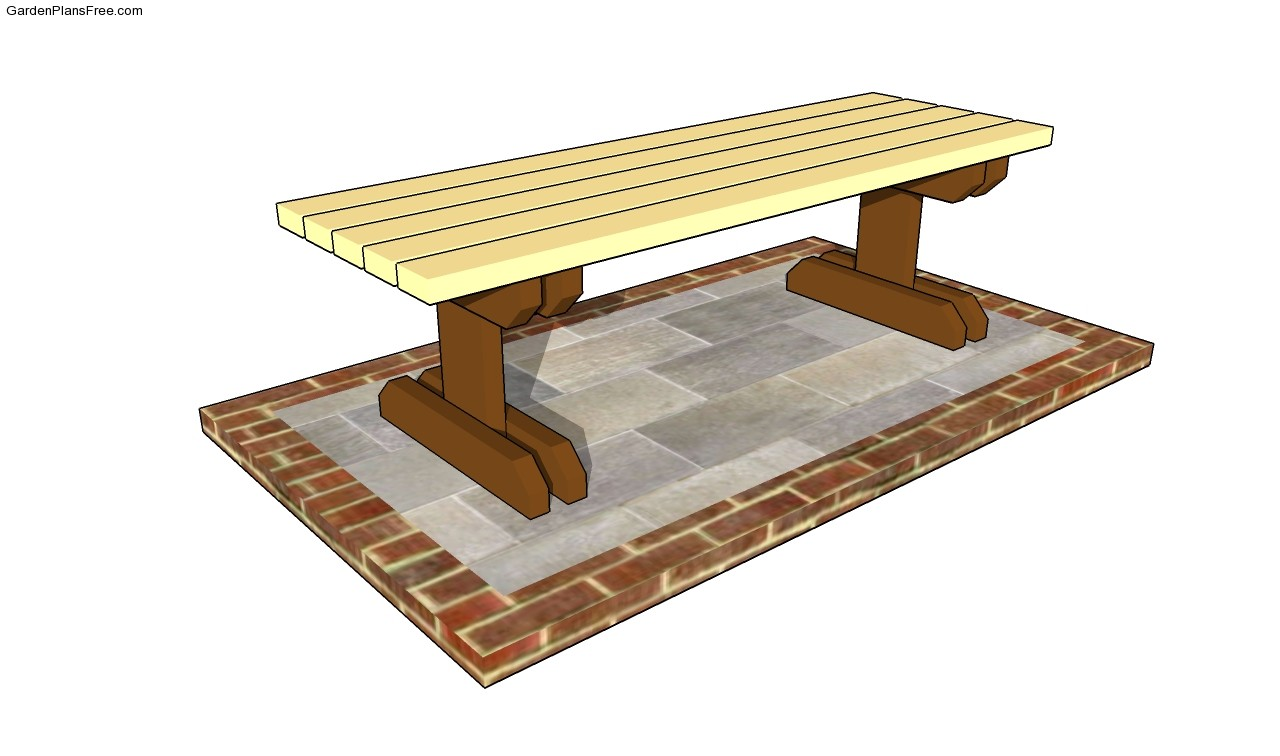 Free Park Bench Plans Diy Woodworking