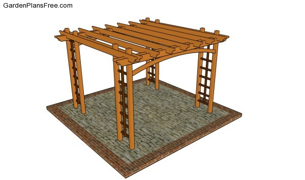Pergola plans free - Pergola Plans Free Free Garden Plans - How To Build Garden Projects