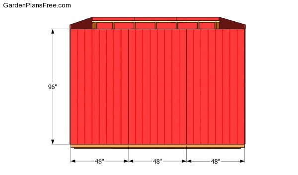Siding - Side wall