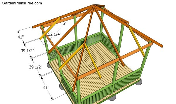 Gazebo Roof Plans Free Garden Plans How To Build