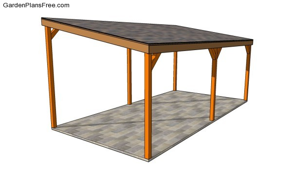 Carport plans free free garden plans how to build Wood carport plans free