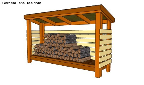Firewood Shed Plans Free | Free Garden Plans - How to build garden ...