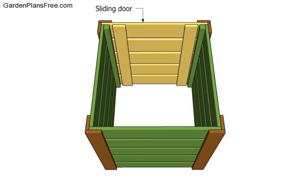 Fitting the sliding door