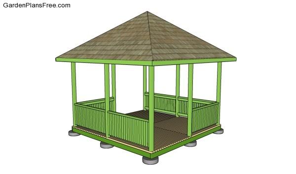 Garden Gazebo Plans