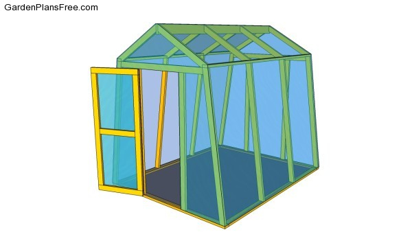 how to build a backyard greenhouse from scratch