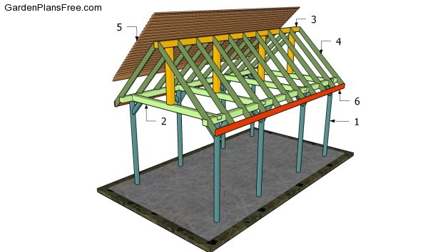 Outdoor pavilion plans free garden plans how to build for Average cost to build a pavilion