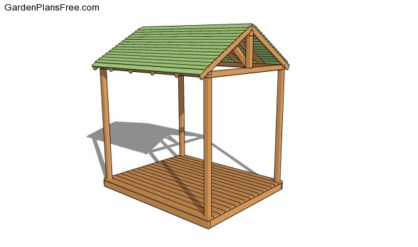Garden Shelter Plans | Free Garden Plans - How to build ...