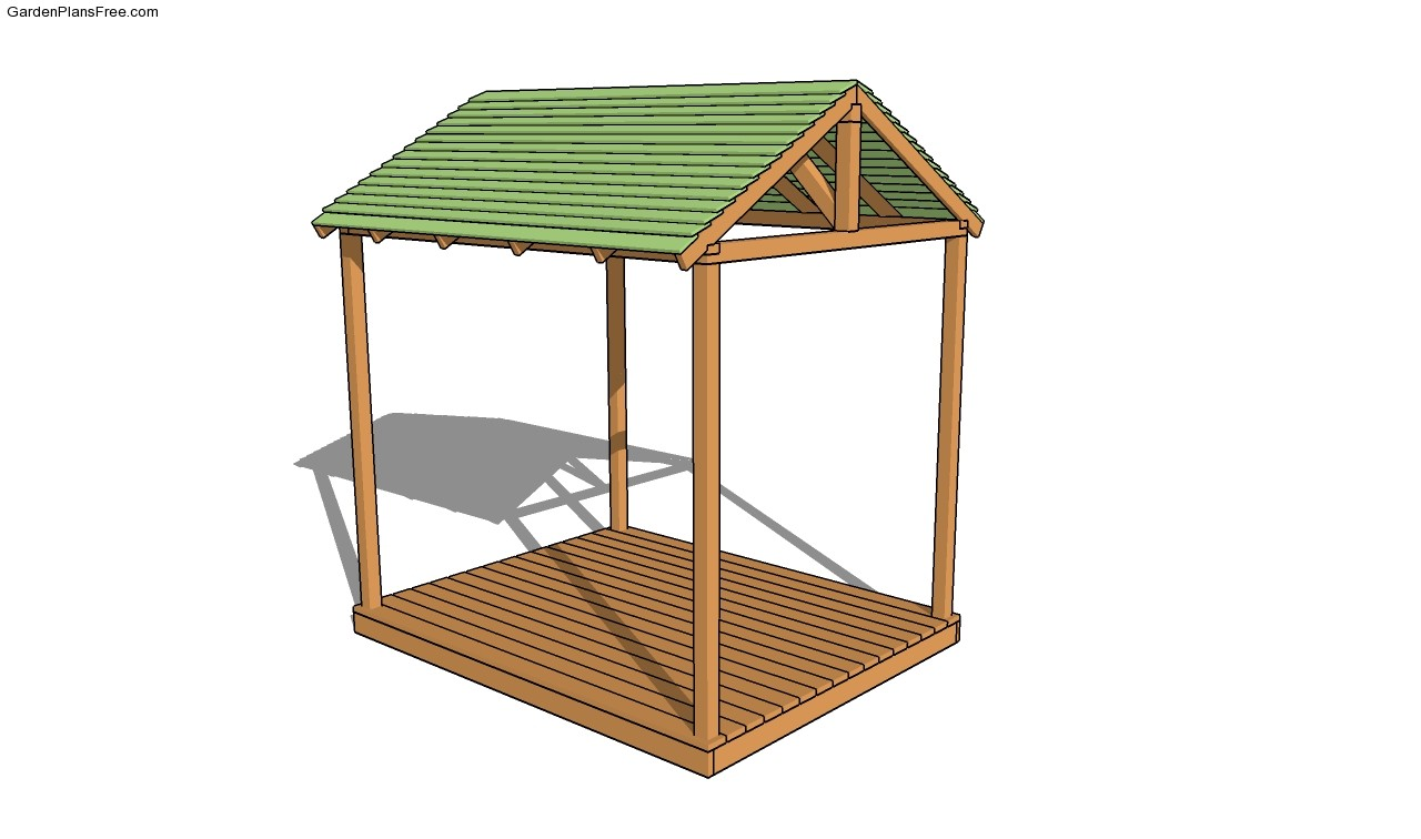 Picnic shelter plans free garden plans how to build Shelter house plans