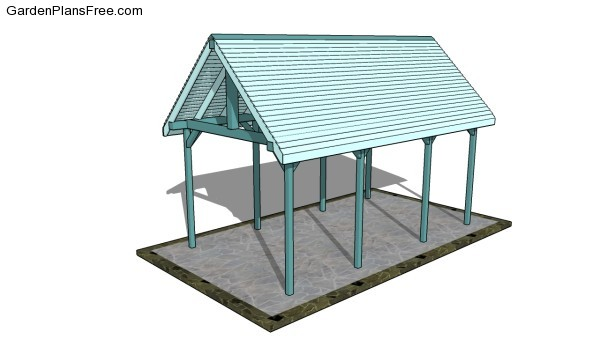 Outdoor Pavilion Plans Free Garden Plans How To Build