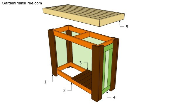 Outdoor Home Bar Plans | DIY Woodworking